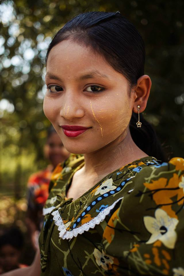 Атлас красоты, девушка из Mawlamyine, Мьянма