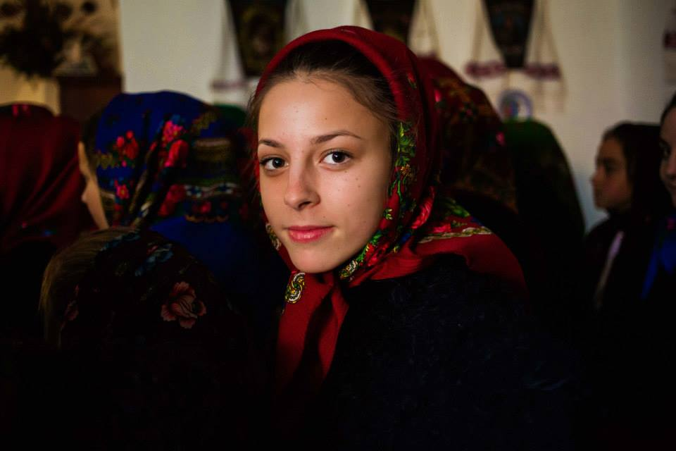 Атлас красоты, девушка из города Марамуреш, Румыния