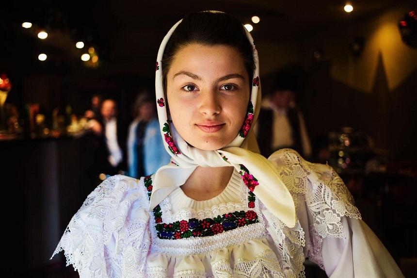 Атлас красоты, девушка с севера Румынии