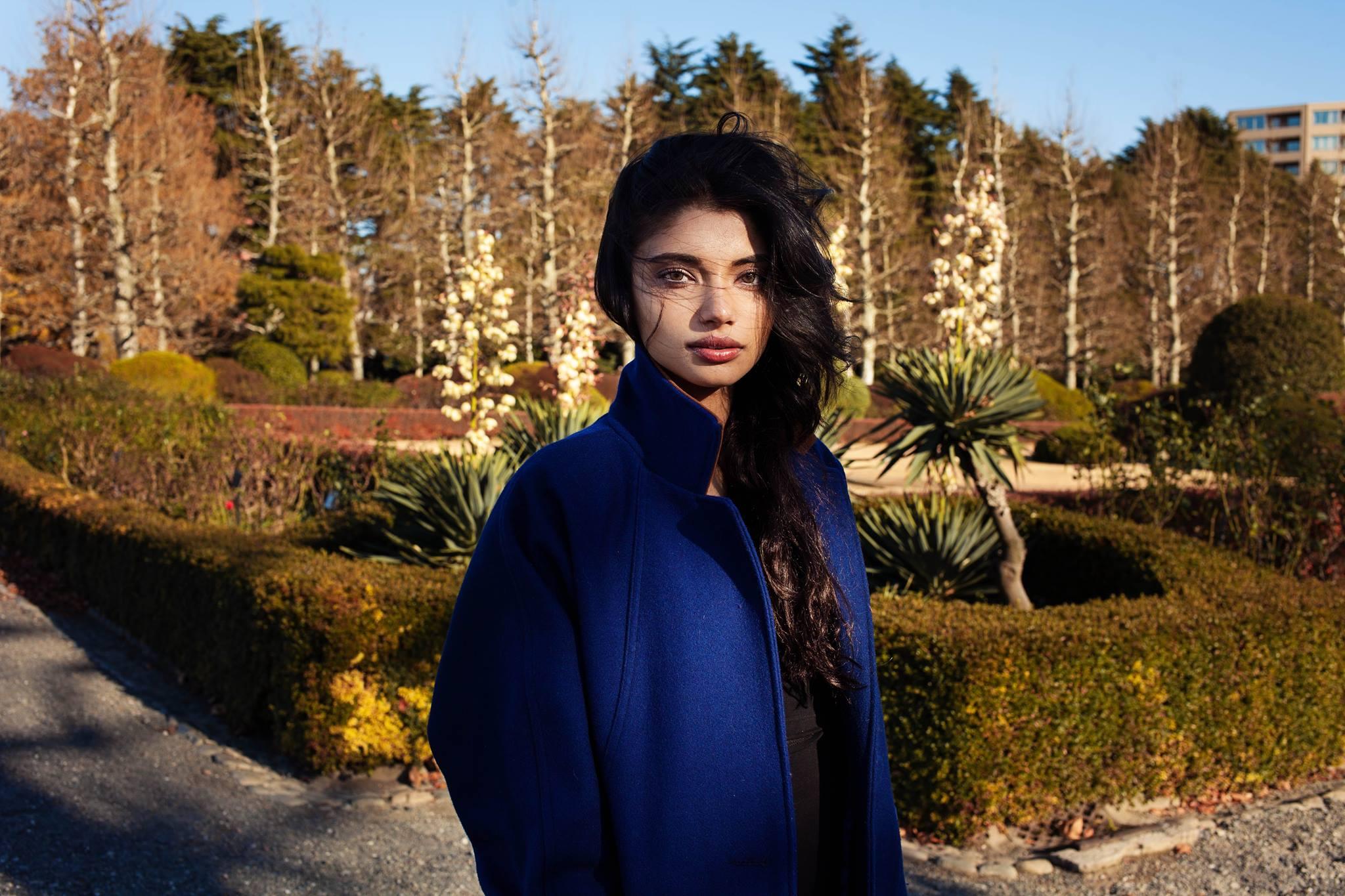 Атлас красоты, девушка из Японии, но с индийскими и египетскими корнями