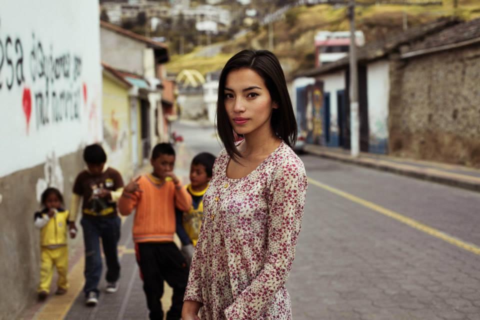 Атлас красоты, девушка из Эквадора
