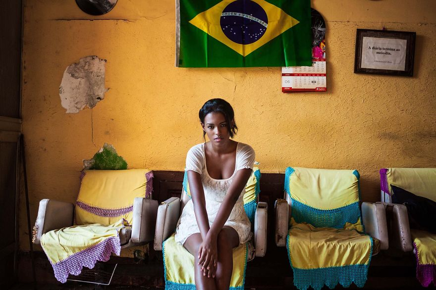 Атлас красоты, девушка из Рио-де-Жанейро, Бразилия