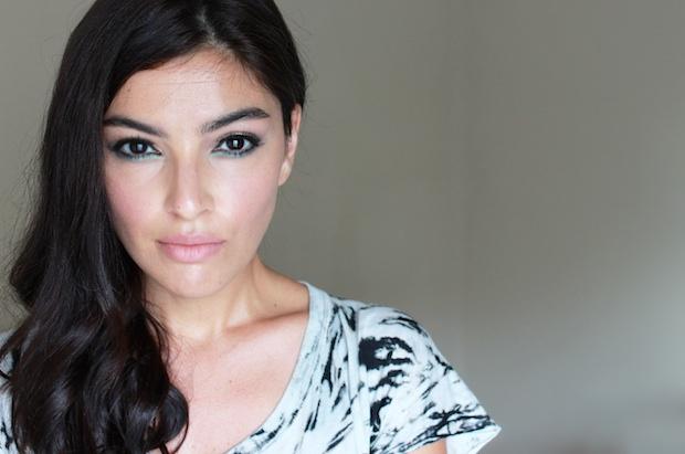 модный макияж осень 2014 - яркая подводка для глаз