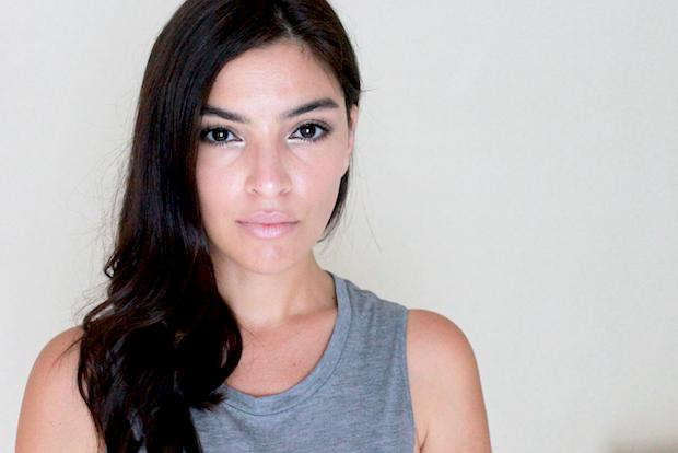 модный макияж осень 2014 - Легкие штрихи оттенка металлик