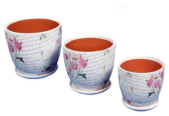 красивые горшки глиняные под цветы