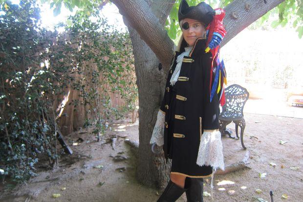 Как сделать женский пиратский костюм