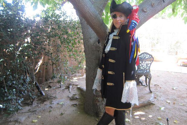 женский пиратский костюм своими руками