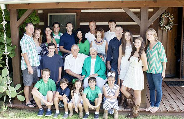принцип составления композиции фотографии под названием «воссоединение семьи»