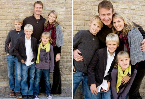 композиция для группового фото: тот, кто выше, стоит справа