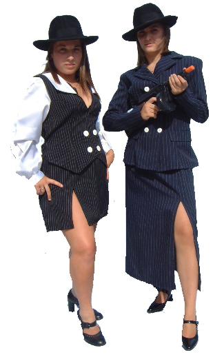 Женский вариант костюма