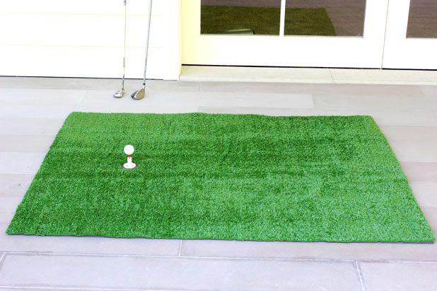 """Как своими руками сделать коврик-""""поле"""" для мини-гольфа в помещении"""