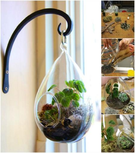 Как выглядят рукодельные подарки, интересные вашим близким: флорариум
