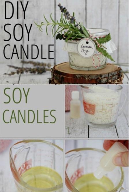 Как выглядят рукодельные подарки, интересные вашим близким: ароматические свечи