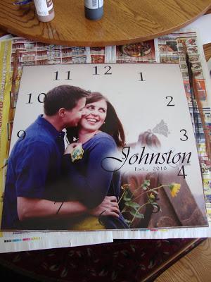Как выглядят рукодельные подарки, интересные вашим близким: настенные часы с любимой личной фотографией