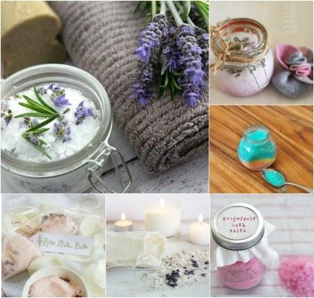 Как выглядят рукодельные подарки, интересные вашим близким: самодельная ароматическая соль для ванны