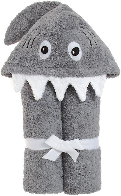 Как выглядят рукодельные подарки, интересные вашим близким: детское полотенце в виде плаща с капюшоном и мордочкой на капюшоне