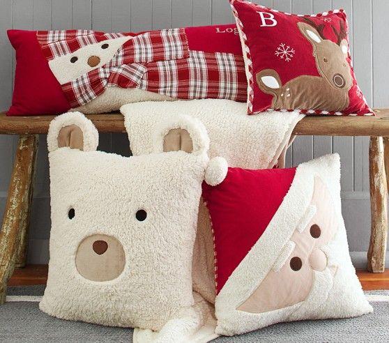 Как выглядят рукодельные подарки, интересные вашим близким: декоративные подушки и серии наволочек к ним - новогодне-рождественская серия
