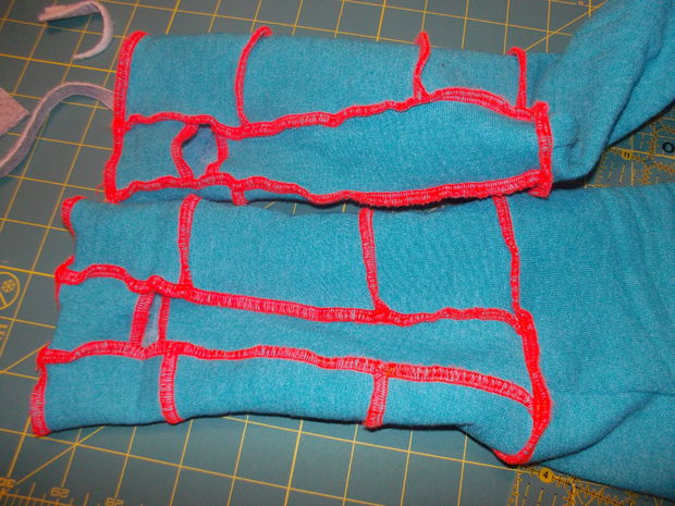 разные варианты рукавов и раскройка для них