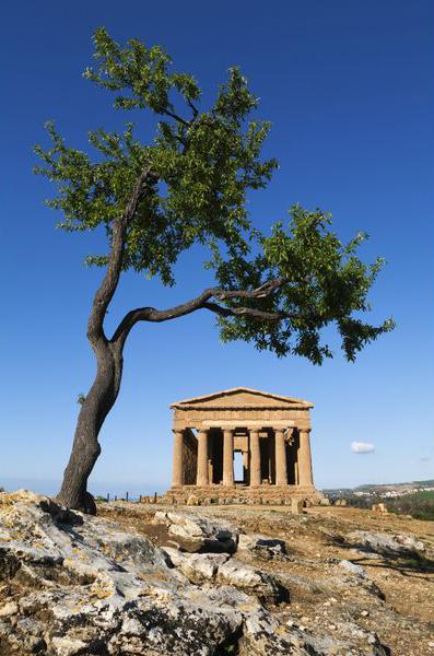 Древние руины на Сицилии, Италия: романские, греческие, храмы