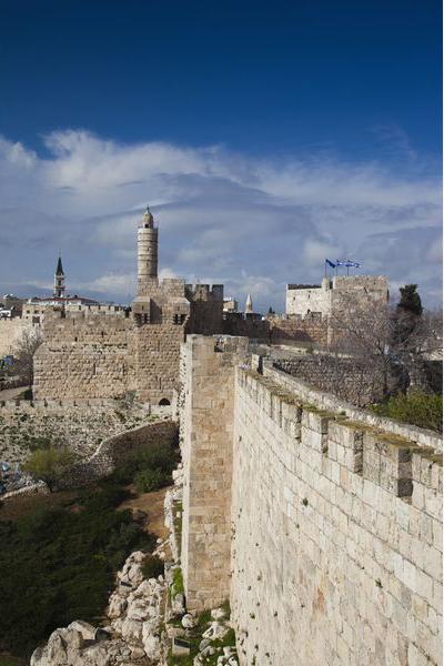 Святая земля, Израиль, крепость старинная