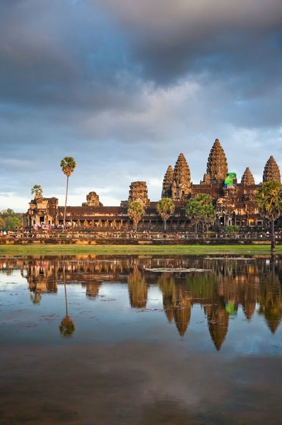 Ангкор-Ват – буддийский храм в Камбоджи