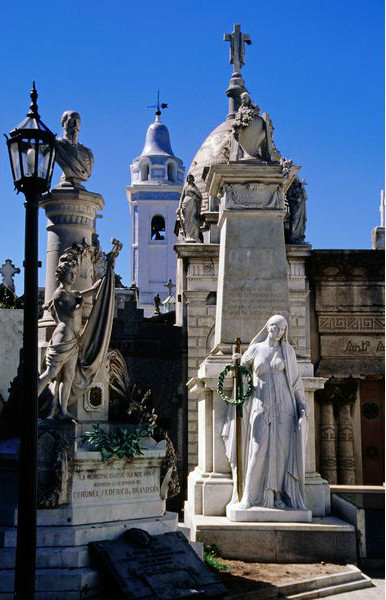 Кладбище Реколета, где похоронена Эва Перон