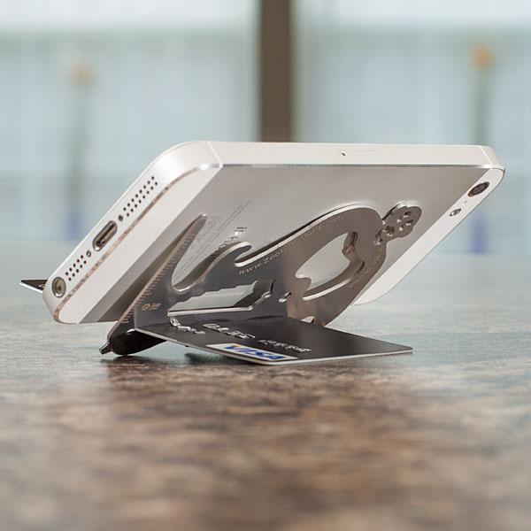 подставка для смартфона Zootility Pocket Monkey (Карманная обезьянка) использование