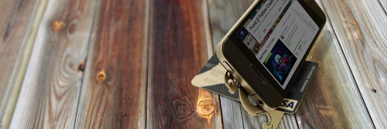 подставка для смартфона Zootility Pocket Monkey (Карманная обезьянка)