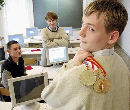Взращивайте гордость за свое учебное заведение, проводя различные мероприятия, вроде спортивных соревнований, олимпиад