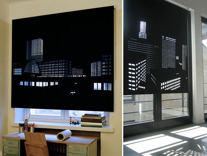 Затемняющие помещение непрозрачные жалюзи, который подарят вам «вид из окна» получше