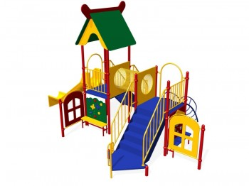 Как выбрать готовую детскую площадку на дачу?