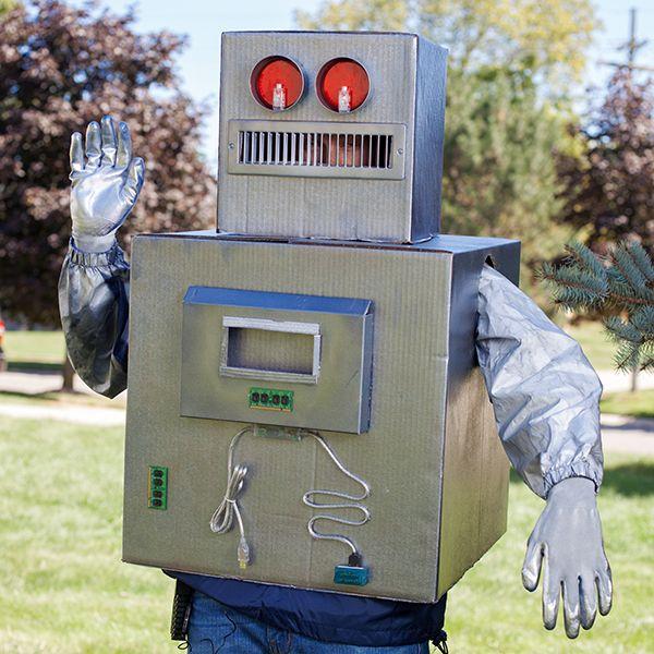 наш костюм классического робота