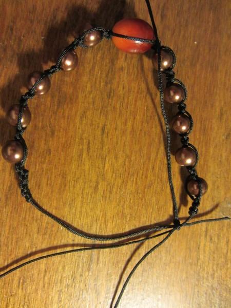 Как собрать браслет шамбала
