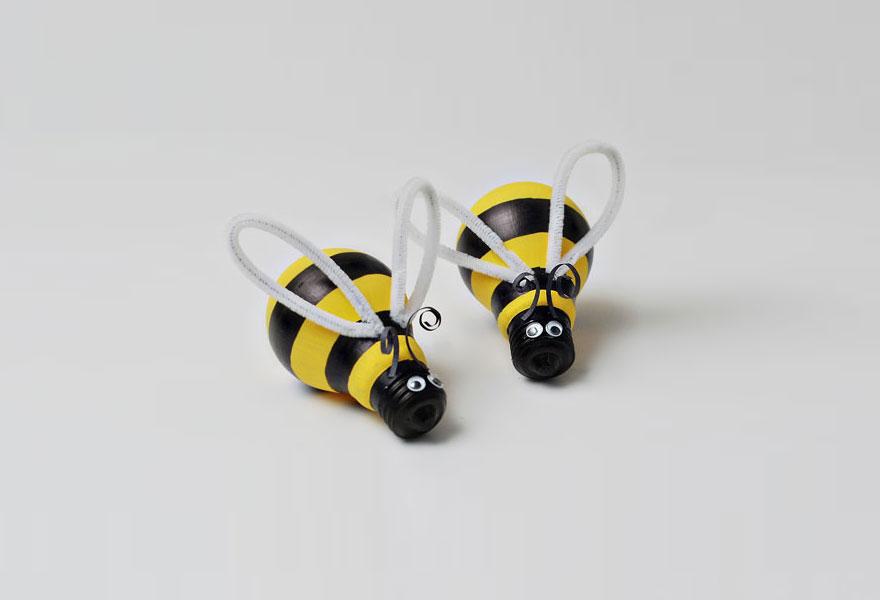 пчелы из лампочек накаливания