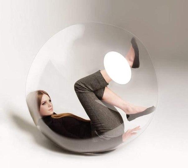 девшука в шаре: интроверт