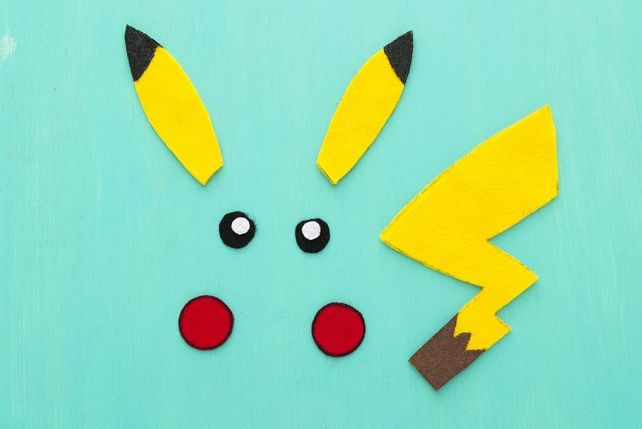Как сделать Пикачу-рюкзак со сладкими Покеболами (по мотивам игры Pokémon Go)
