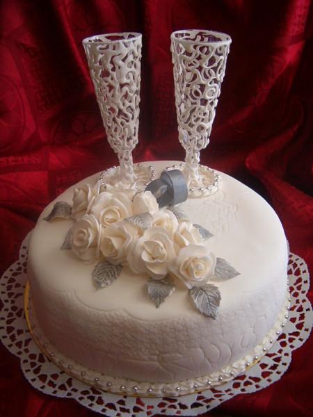 Как украсить торт используя мастику