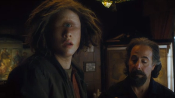 «Перси Джексон и Море чудовищ» (Percy Jackson: Sea of Monsters) кадр из фильма мальчик-циклоп
