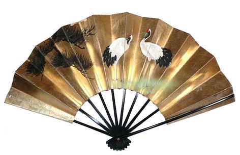 бумажный японский веер сенсу своими руками