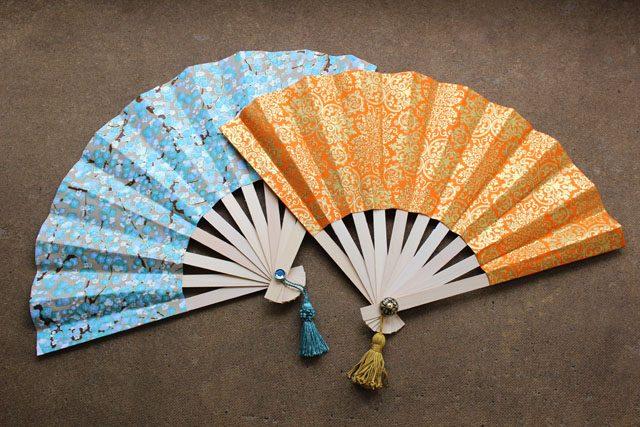 Как сделать бумажный японский веер сенсу
