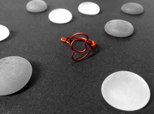 Как сделать простое, но эффектное кольцо для юной девушки на Валентинов день