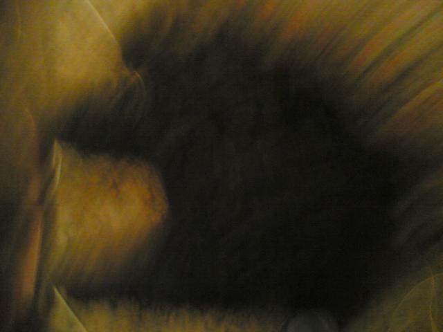 страшная тень на стене