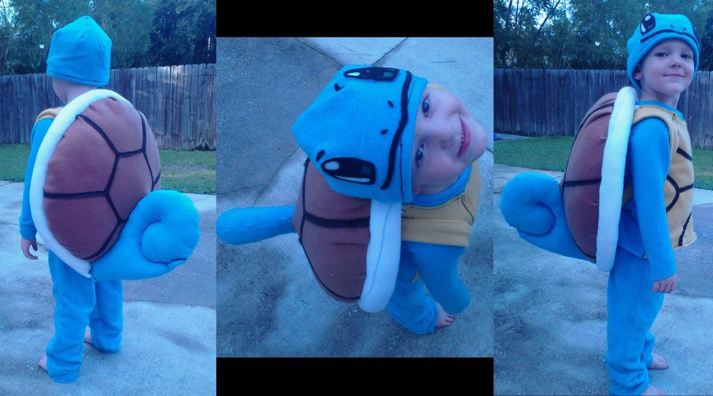 Как сделать комплексный детский костюм черепашки