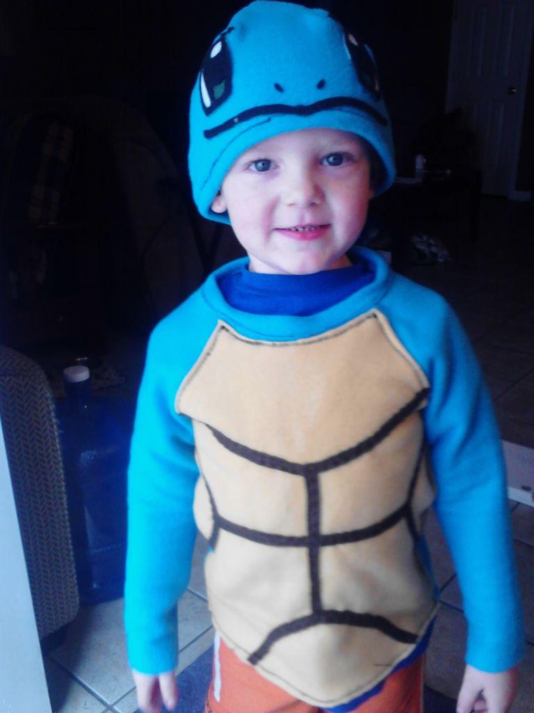 Как сделать комплексный детский костюм черепашки. Часть 1.