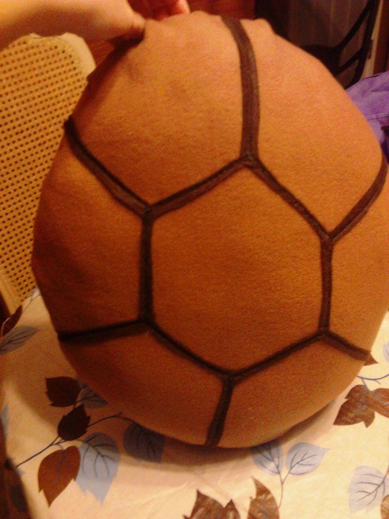 Панцирь для детского костюма черепахи своими руками