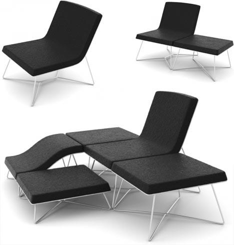 диванный модульный комплекс «Community Couch»