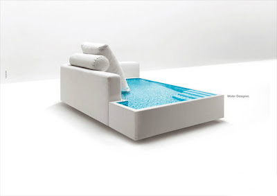 диван-бассейн от Piscine Castiglione