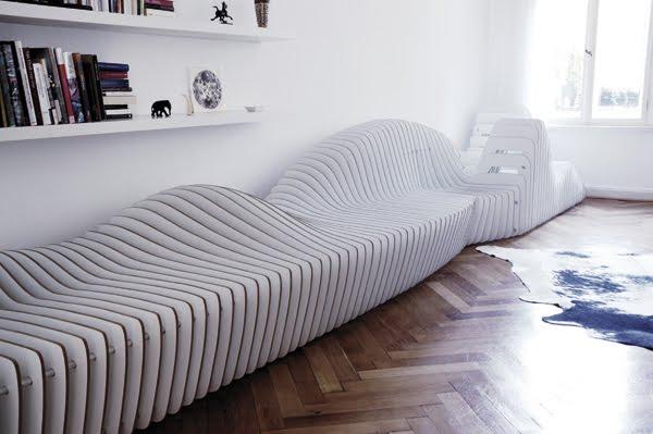 диванный комплекс «Sitscape» длиной более 6-ти м