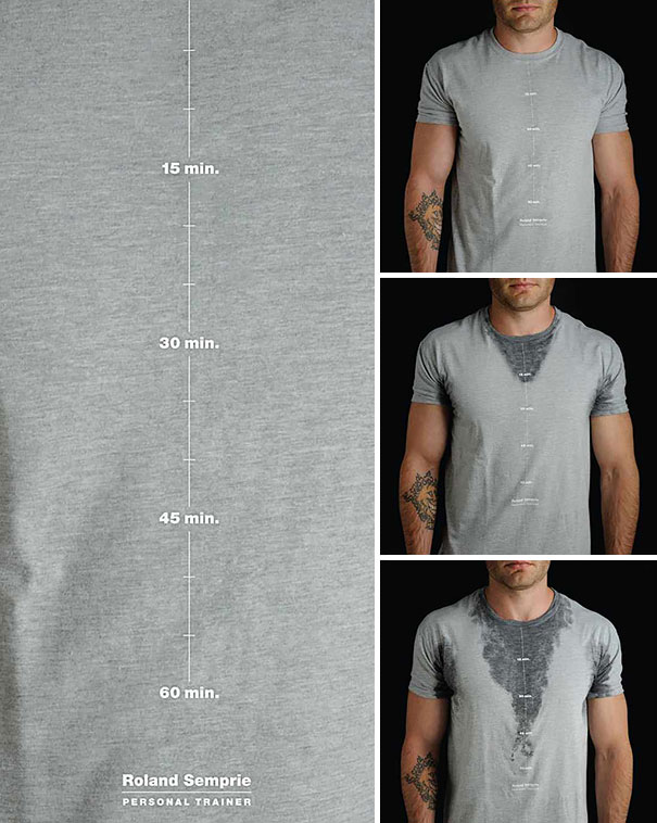самые креативные футболки: личный тренер