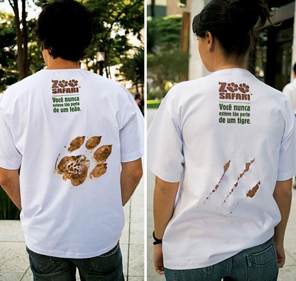 самые креативные в мире футболки: я ездил на сафари